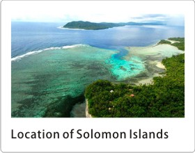 People and Location of Solomon Islands