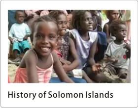 History of Solomon Islands